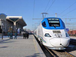 Tren de mare viteză uzbek, pe ruta Taşkent-Samarkand