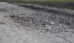 """Drum din Constanţa, proaspăt """"asfaltat"""""""